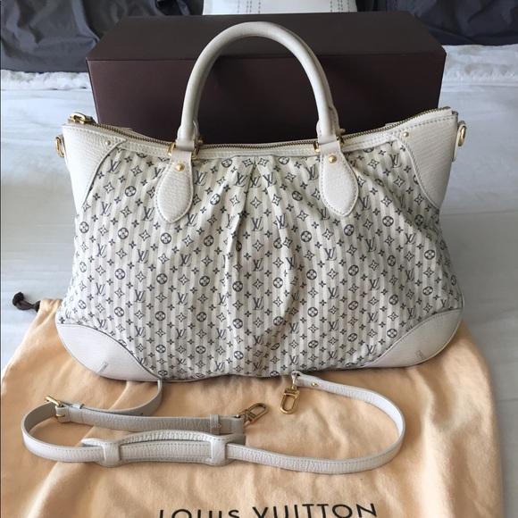 Louis Vuitton Handbags - LV Blue White Mini Lin Croisette Marina GM Bag bbf85e60d1008